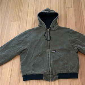 Dickies hooded work jacket